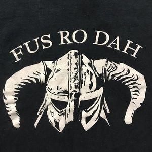 Skyrim Fus Ro Dah T Shirt